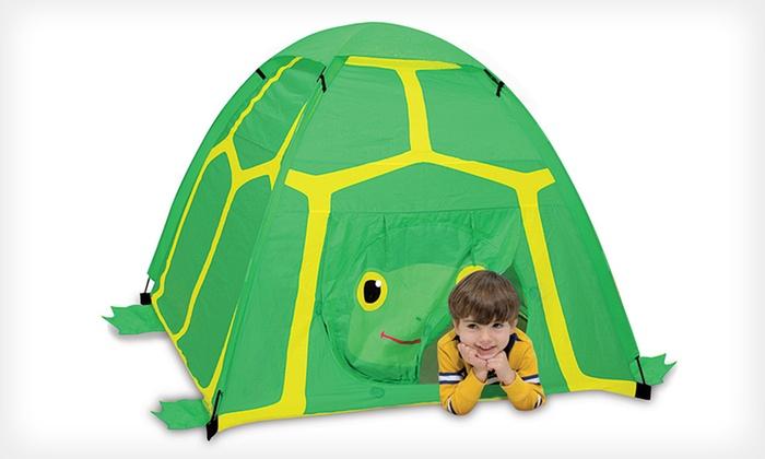 Melissa u0026 Doug Kidsu0027 Tents $19.99 for a Melissa u0026 Doug Tootle Turtle or ...  sc 1 st  Groupon & $19.99 for a Kidsu0027 Turtle or Ladybug Tent | Groupon
