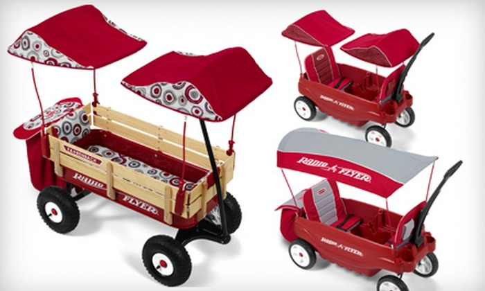 Radio Flyer: $59 for $120 Toward a Custom Build-A-Wagon from Radio Flyer