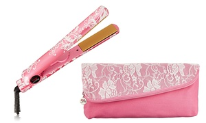 """Chi Air 1"""" Flat Iron In Pink Lace"""