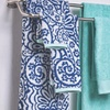 6-Piece Paisley and Solid 600GSM 100% Cotton Towel Set