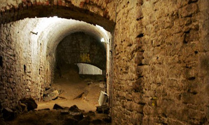 Queen City Underground - American Legacy Tours: $20 for Underground City Walking Tour for Two from Queen City Underground ($40 Value)