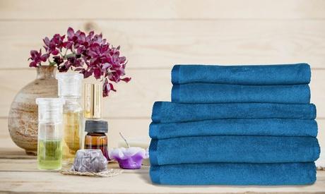 1, 2 o 3 toallas Erika 100% algodón tamaño grande, mediano y pequeño (según opción)