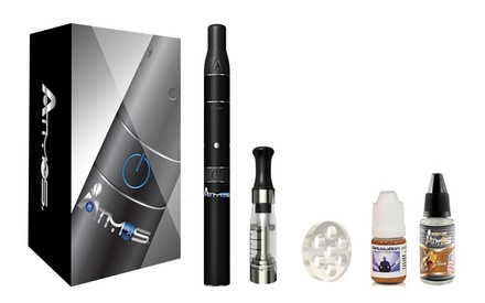 Atmos Rx Dry Herb Vaporizer Kit with Oil Bundle. Multiple Colors Available.
