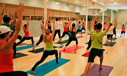 $45 for 10 Classes at YogaHop ($160 Value)