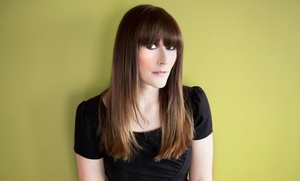 The Beauty Box by Kim: A Women's Haircut with Shampoo and Style from Deez Hairstudio  (55% Off)