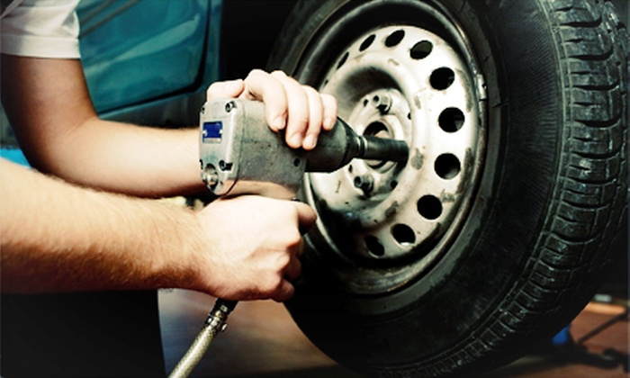 Groovy Automotive - Multiple Locations: $39 for a Four-Wheel Alignment Service at Groovy Automotive ($79 Value)