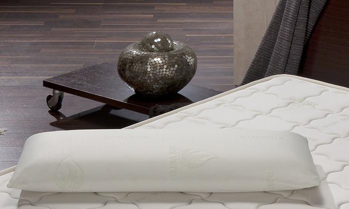 Groupon Goods Global GmbH: 2 almohadas viscoelásticas con tratamiento de aloe vera por 19,99 € (80% de descuento)