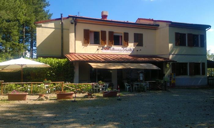Le 3 Fonti - Località Trappola - Loro Ciuffenna (AR): Pratomagno, Hotel Le 3 Fonti - Una notte con cena e colazione da 39 € per 2 persone