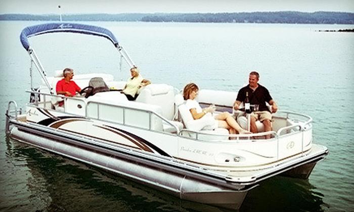 Bartlett Lake Marina - Phoenix: $139 for a Full-Day Pontoon Rental from Bartlett Lake Marina ($350 Value)