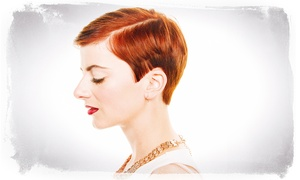 Salon Sixty Six: Cut and Blow-Dry (£15) With Colour (£35) at Salon Sixty Six (50% Off)