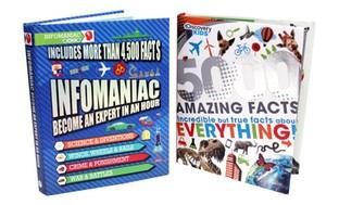 Discovery Kids and Infomaniac Kids' Fact Books