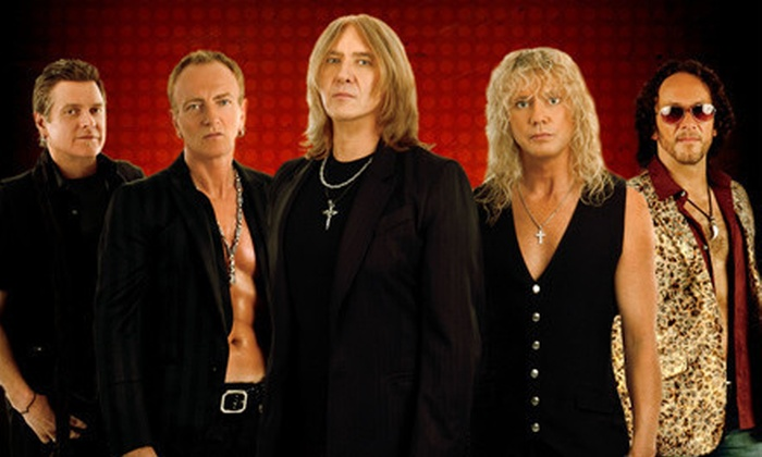 Def Leppard and Poison on their Rock of Ages Tour 2012 - Irvine: $20 for a G-Pass to the Def Leppard and Poison Concert in Irvine on Friday, June 22, at 7 p.m. (Up to $53.35 Value)