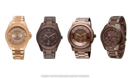 Relógio feminino analógico Euro   Desconto em Brasil 4d79d5c32d