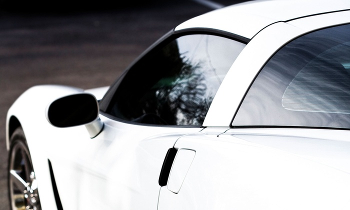 Tunes-N-Tint - Multiple Locations: Window Tinting for Car or Truck at Alarms, Etc. (Up to 51% Off). Three Options Available.