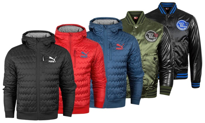 8e3f7b6b408 Men's Puma Jackets | Groupon Goods