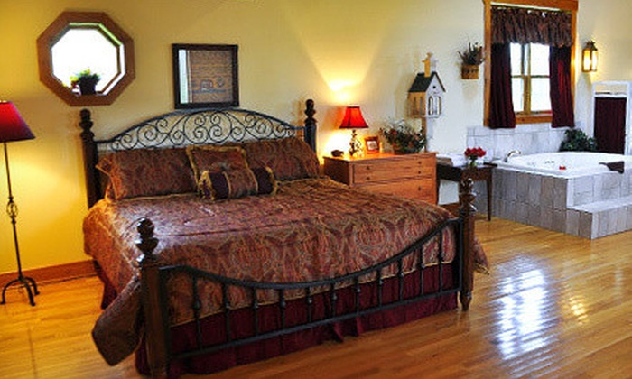 Premier Carriage House Cottages - Millersburg, OH: 2-Night Cottage Stay with Romance Package at Premier Carriage House Cottages (Up to 32% Off). Two Options Available.