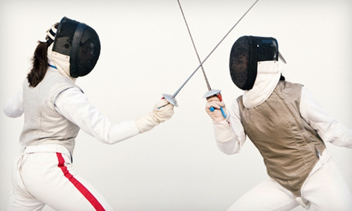 Salle D'Asaro Fencing Club - West Carson: Youth Camp or Month-Long Membership with One or Four Lessons at Salle D'Asaro Fencing Club in Torrance (Up to 73% Off)