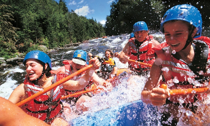 Tarka's Whitewater Journey - Green Bay: Half-Day, 1-Night, or 2-Night Menominee River Rafting Trip from Tarka's Whitewater Journey (Up to 51% Off)