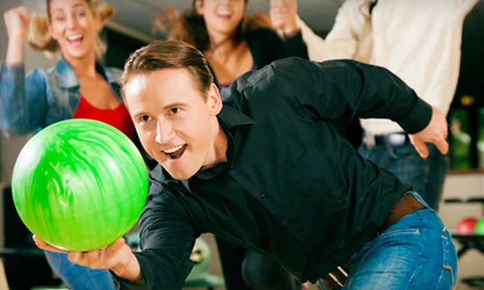 Nationwide Bowling - Multiple Locations: $25 for Two Hours of Bowling Plus Shoe Rental for Up to Five at Nationwide Bowling Centers (Up to 67% Off)