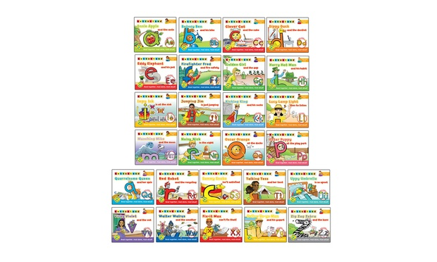 Buy Letterland 26 Book Boxset For R499 Including Delivery