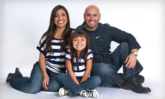 Target Portrait Studio - Multiple Locations: $39 for a Photo Portrait Package with Prints at Target Portrait Studio ($209.88 Value)