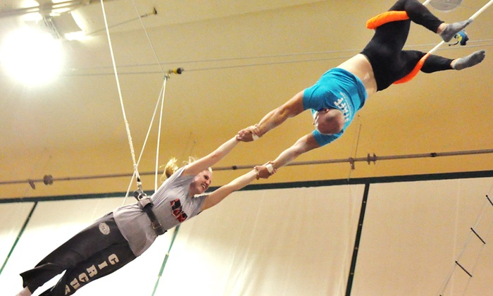 Trapeze School New York in Chicago - Multiple Locations: $40 for an Indoor or Outdoor Class for One at Trapeze School New York in Chicago ($75 Value)