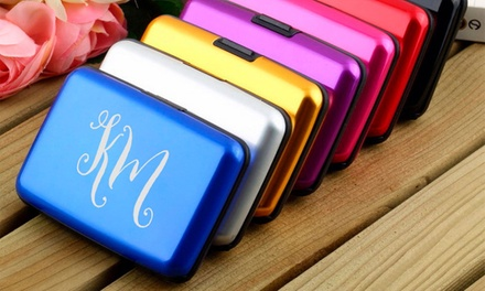 Personalised Wallet Card Holder: One $8 or Two $15 Don't Pay up to $50.46