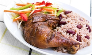 Original Tropic Island Jerk Chicken Restaurant: 60% off at Original Tropic Island Jerk Chicken Restaurant
