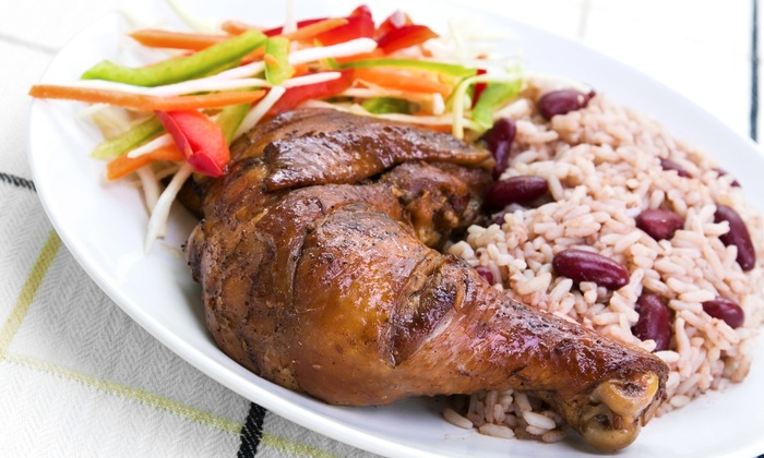 Uncle Randy's Jamaican American Cuisine - Evanston: Jerk-Chicken Dinner for Two or $8 for $15 Worth of Food at Uncle Randy's Jamaican American Cuisine