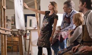 ArtWorks: Four-Hour Painting Lesson at ArtWorks (43% Off)