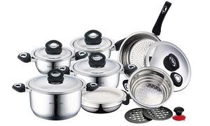 Royalty Line 16-Piece Cookware Set