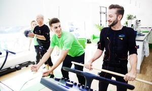 Slim-Gym Club Tiergarten: 3 od. 5 EMS-Einheiten inkl. Körperanalyse, Sportbekleidung u. Getränken im Slim-Gym Club Tiergarten (bis zu 73% sparen*)