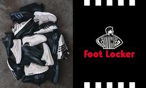 Foot Locker: Foot Locker Geschenkkarte über 20 € anrechenbar auf Sneaker und sportliche Fashion in allen deutschen Filialen
