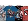 Marvel Superheroes Boys' Tees