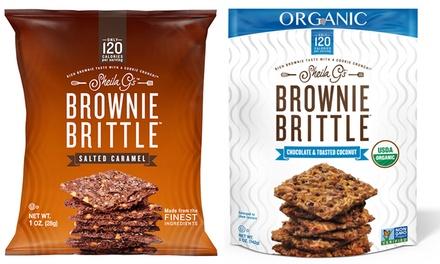 Brownie Brittle Variety Pack (40-Pack) or Organic Brownie Brittle Variety Pack (6-Pack)