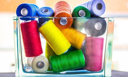 $30 for $60 Worth of Needlework Classes — Three Little Birds Sewing Co.