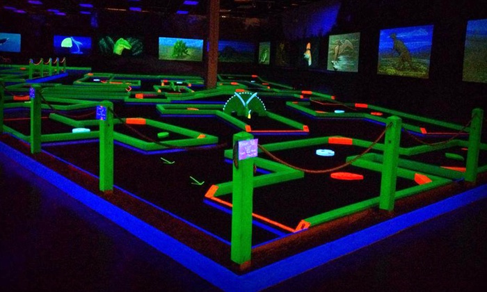 Mini Golf For Four Lunar Mini Golf At Sugarloaf Mills Groupon