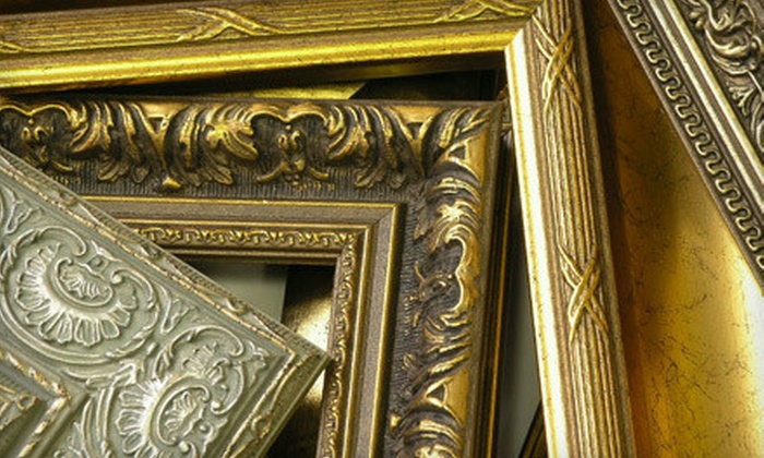 Thompson's Frame Factory - Multiple Locations: Custom Framing, Framed Artwork, and Merchandise at Thompson's Frame Factory (Up to 52% Off)