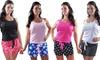 Freshlook Women's Boxer and Top Sleep Set: Freshlook Women's Boxer and Top Sleep Set