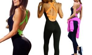 Combinaison fitness sensuelle