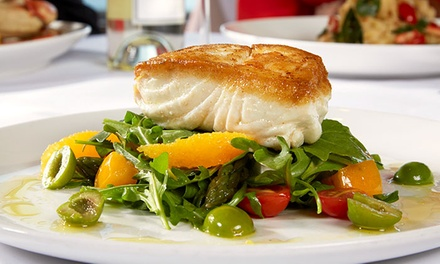 Seafood and Steaks at Cutters Crabhouse (Up to 40% Off). Two Options Available.