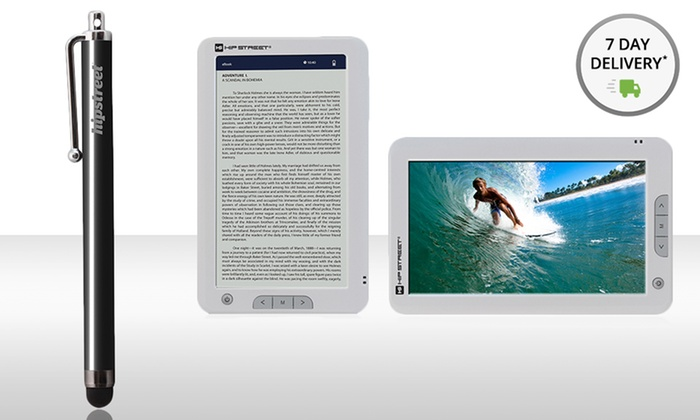 "7"" High-Definition Multimedia E-reader and Stylus: 7"" High-Definition Multimedia E-reader and Stylus (HS-M701-4GB and HS-TABSTYLUS)"