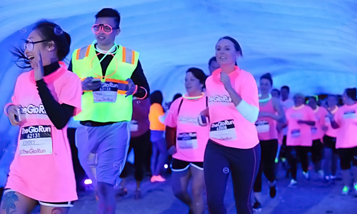 The Glo Run - Madison: $39 for The Glo Run 5K with Energy Upgrade on Saturday, September 19 ($65 Value)