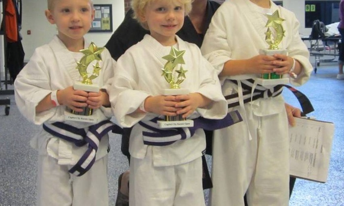 Karate America - Multiple Locations: $35 for 1-Month of Unlimited Classes with Uniform at Plumer Karate America ($99 Value)