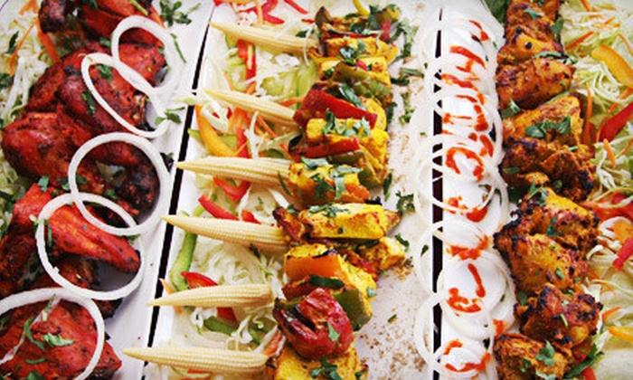 Moksha Grand Indian Buffet & Lounge - Plaza 34: $13 for $26 Worth of Indian Food at Moksha Grand Indian Buffet & Lounge