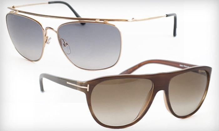 Tom Ford Unisex Sunglasses: Tom Ford Unisex Sunglasses (Up to 78% Off). Shipping Included. Eight Styles Available.