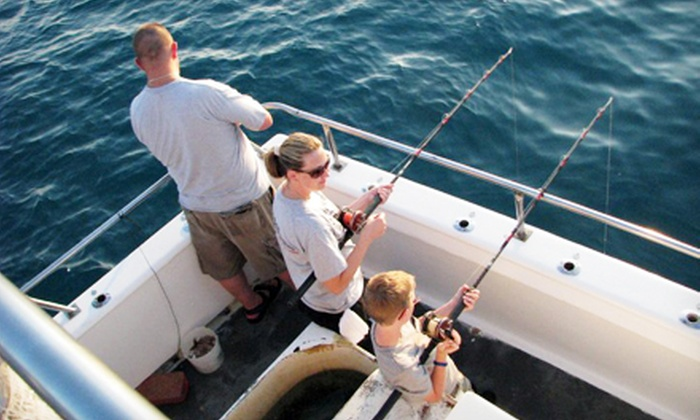 Fishing trip obsession charters groupon for Groupon deep sea fishing