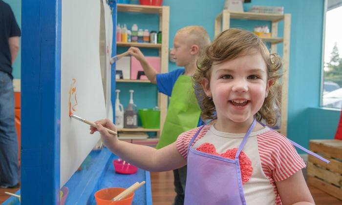 The Art Box Children's Studio - Fair Oaks: Up to 47% Off Children's Art Studio Time at The Art Box Children's Studio