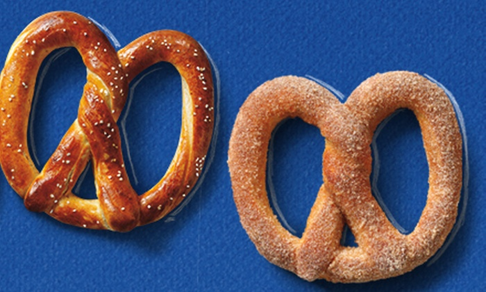Auntie Anne's - Chicago - Multiple Locations: $6 for Four Signature Pretzels at Auntie Anne's (Up to $11.96 Value)