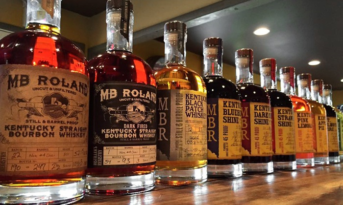 MB Roland Distillery - Oak Grove-Pembroke: Distiller's Tour with Tasting and Glassware for Two or Four at MB Roland Distillery (Up to 45% Off)